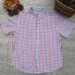 Izod Saltwater Seaport Poplin Shirt